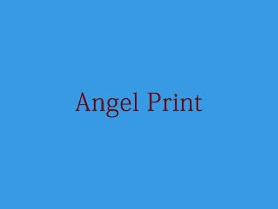 Angel Print